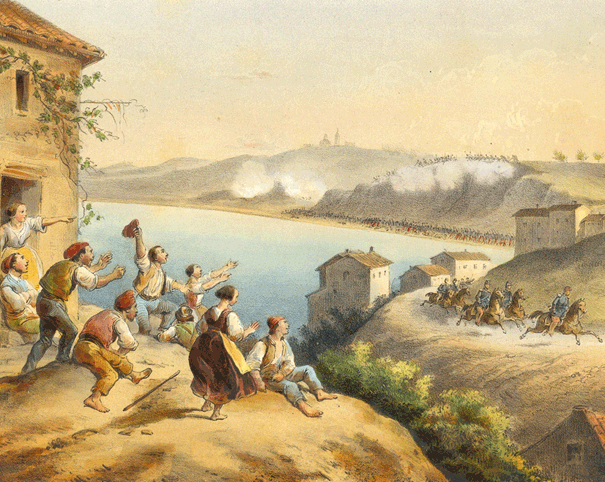 fuga del generale La Moriciere