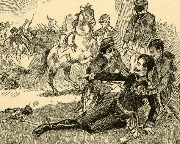 Gen. Pimodan ferito