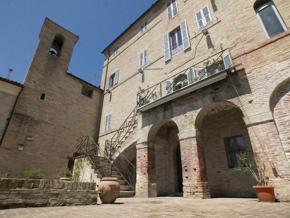 palazzo Mordini, giardino